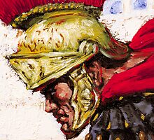 Roman Warrior by Sheffield Abella