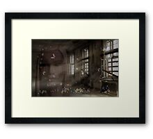 Empty Rooms Framed Print