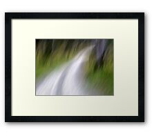 To the River Framed Print
