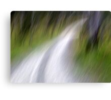 To the River Canvas Print