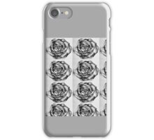 Water Colour Biro Drawing of A Rose iPhone Case/Skin