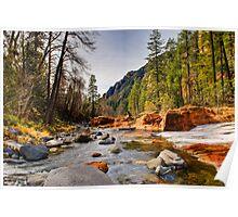Oak Creek Canyon Poster