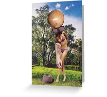 M Blackwell - Oops, I Dropped My Hat... Greeting Card