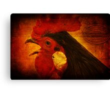 something to crow about Canvas Print