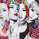 2NE1 by Monica Sutrisna