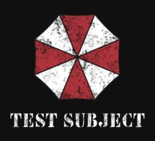 Umbrella Corporation Test Subject by Keez