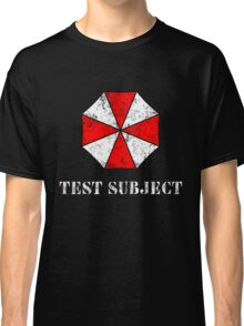 Umbrella Corporation Test Subject Classic T-Shirt