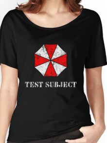 Umbrella Corporation Test Subject Women's Relaxed Fit T-Shirt