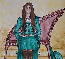 Guinevere by Diane  Andrasic