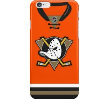Anaheim Ducks Alternate Jersey iPhone Case/Skin