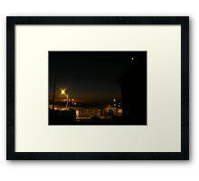 Calles conocidas, Antofagasta - Chile Framed Print