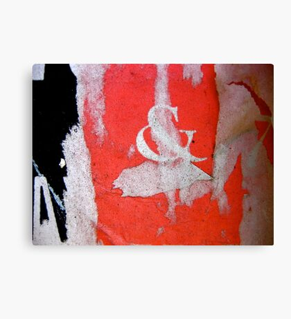 pirouette, centre stage Canvas Print