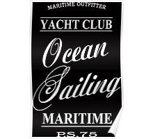 Ocean sailing Poster