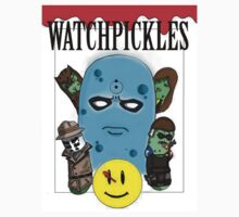 Watchmen Comic Characters... as pickles? by Nick Terry