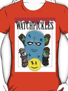 Watchmen Comic Characters... as pickles? T-Shirt