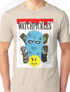 Watchmen Comic Characters... as pickles? Unisex T-Shirt