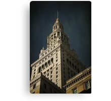 Cleveland Union Terminal Tower Canvas Print