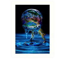 Cleansing Earth  Art Print
