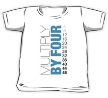 Multiply by Four Kids Tee
