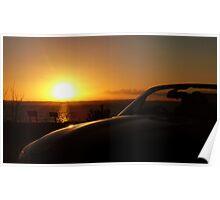Sunset over Strangford (Part 2) Poster