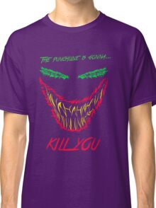 Mad man with a smile for chaos Classic T-Shirt