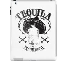 Tequila it makes me happy! iPad Case/Skin
