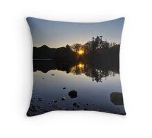 Derwentwater Evening Throw Pillow
