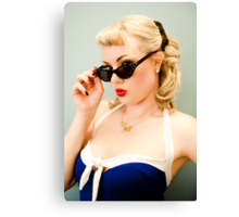 That Pinup Pout Canvas Print