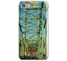 Lime Green Bridge iPhone Case/Skin