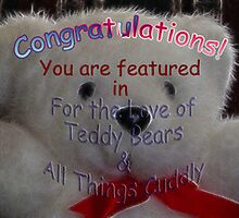 For the love of Teddy Bears and all things cuddly group banner challenge by vigor
