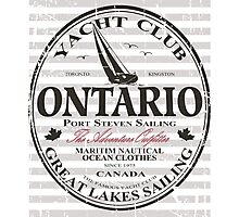 Ontario Sailing Photographic Print