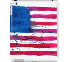 Watercolor Flag of the USA iPad Case/Skin