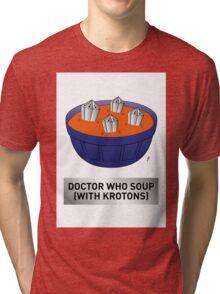 Doctor Who Krotons Soup Tri-blend T-Shirt
