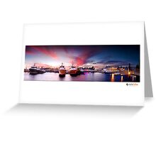 Fremantle Fishing Boat Harbor Greeting Card