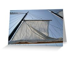 Sailing in Nova Scotia Greeting Card