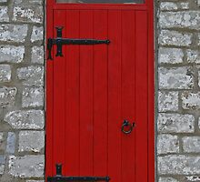 Red Lighthouse Door by akrolith