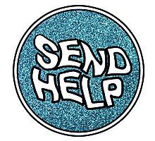 HALSEY :: SEND HELP Photographic Print