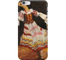 Polesian Ukranian Dancing Girls - Oil Painting iPhone Case/Skin