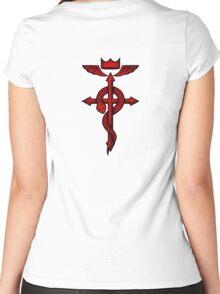 Fullmetal Alchemist Flamel Women's Fitted Scoop T-Shirt