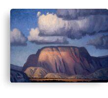 Carmichael Butte Canvas Print