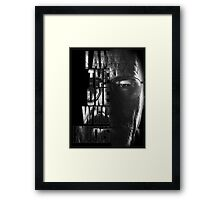 Breaking Bad Knocks Framed Print