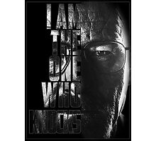 Breaking Bad Knocks Photographic Print