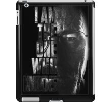 Breaking Bad Knocks iPad Case/Skin