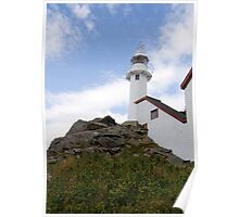White Lighthouse - Lobster Cove Poster