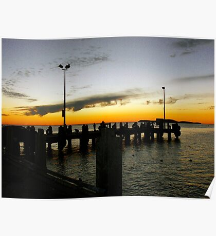Lancelin Jetty Poster