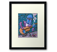 Po' Man's Blues Framed Print