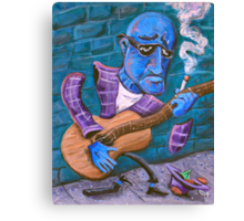 Po' Man's Blues Canvas Print