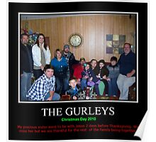 The Gurley Family Christmas 2010 Poster