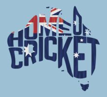 Australia, Home of Cricket One Piece - Short Sleeve