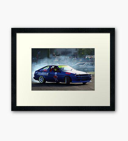 Raceline Framed Print